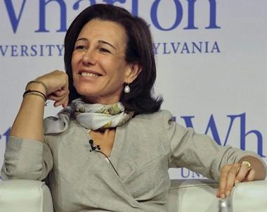 Ana Patricia Botín (Foto: Agência EFE)
