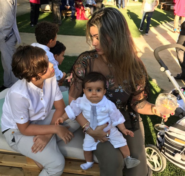 Kelly Key e os filhos (Foto: Reprodução/Instagram)