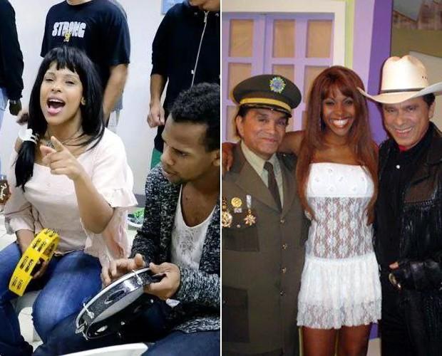 Solange participou de diversos programas de TV antes de começar a estudar teatro (Foto: Arquivo pessoal)
