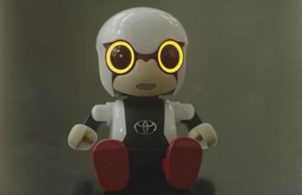 Kirobo Mini desenvolvido pela Toyota (Foto: Divulgação)