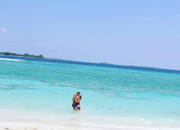 Rafael Vitti e Tatá Werneck fazem viagem romântica para as Maldivas