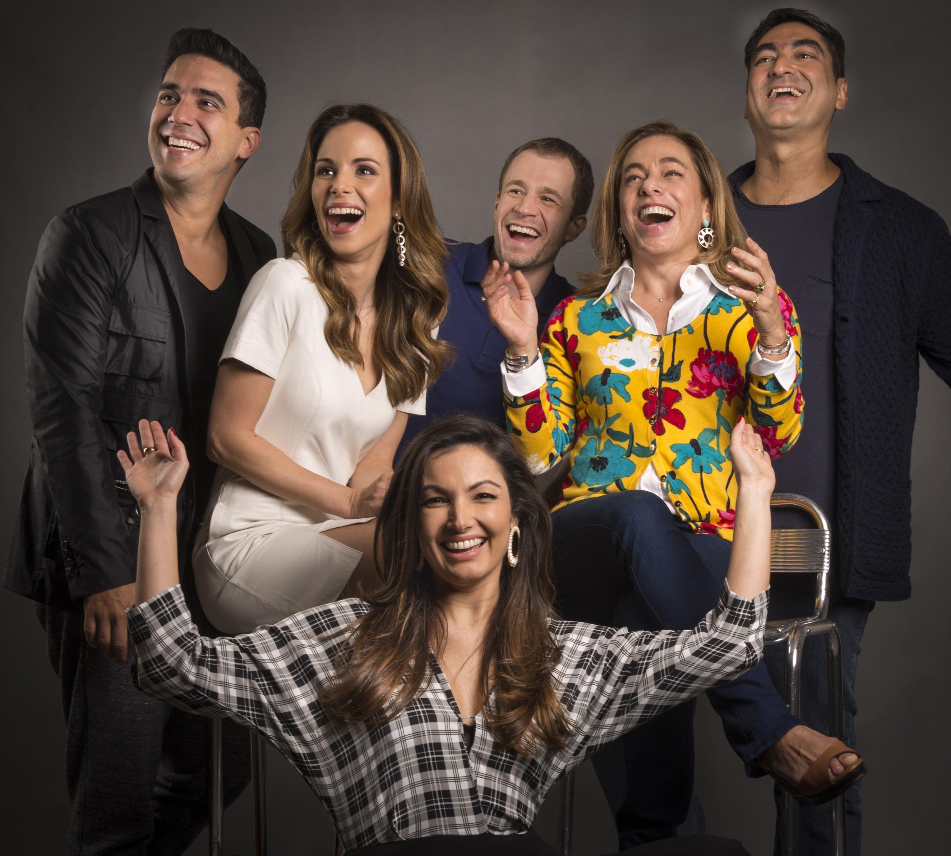 Os apresentadores do programa que já 'É de casa' (Foto: Divulgação)