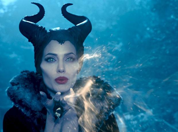 Angelina Jolie no filme Maléfica (Foto: Divulgação)