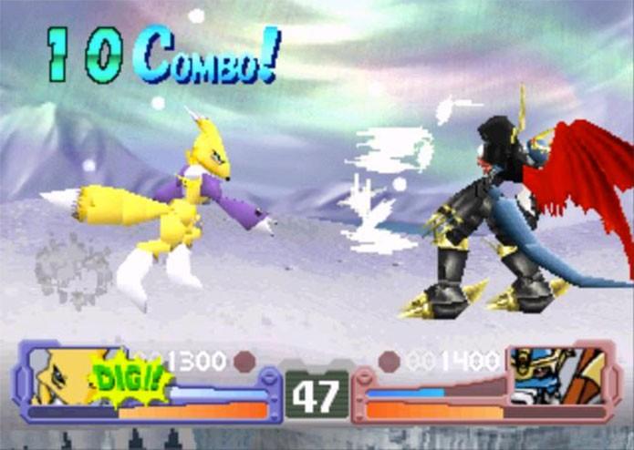 Digimon Rumble Arena era um jogo de luta (Foto: Divulgação)