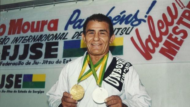 Jairo Moura é uma lenda viva do jiu-jitsu sergipano (Foto: Arquivo Pessoal)