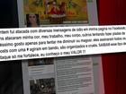 Cantora Preta Gil denuncia mensagens de ódio em rede social