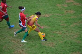Genus-RO venceu a equipe acreana Assermurb, com o placar de 1 a 0 (Foto: Quésia Melo)