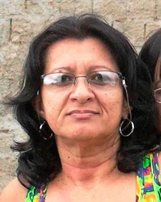 Maria Edneide, de 48 anos, havia descoberto problemas cardíacos há pouco tempo (Foto: Arquivo da família)