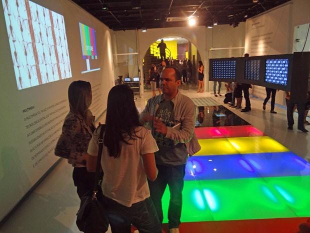 Centro tem espaço para exibição interativa dos produtos finalizados. (Foto: Luna Markman/G1)