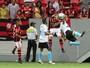 Berrío marca na estreia e Fla vence reservas do Grêmio na Liga: 2 a 0