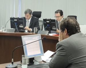 Paulo César Salomão Filho stjd julgamento gremio racismo (Foto: Lucas Rizzatti/GloboEsporte.com)