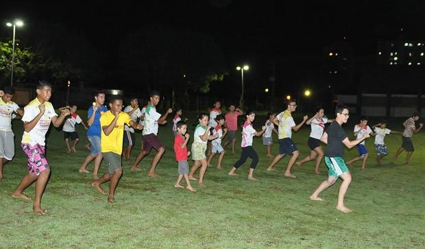 A equipe do sensei José Humberto sob o comando do sensei Rodrigo Lúcio de Souza leva para a Arena Pantanal a prática do Karatê-Dô Tradicional (Foto: Reprodução/ Internet)