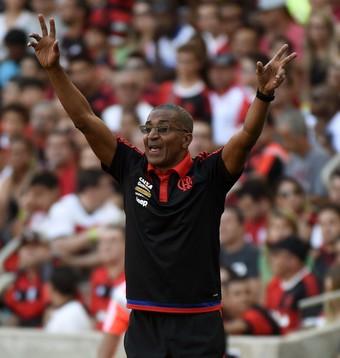 Cristóvão Borges Flamengo x Santos Maracanã (Foto: André Durão)