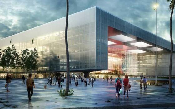 Antel Arena, no Uruguai. O equipamento dá sobrevida ao escritório brasileiro da gigante americana AEG (Foto: Divulgação)