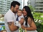 Ex-BBB Priscila Pires está grávida do segundo filho