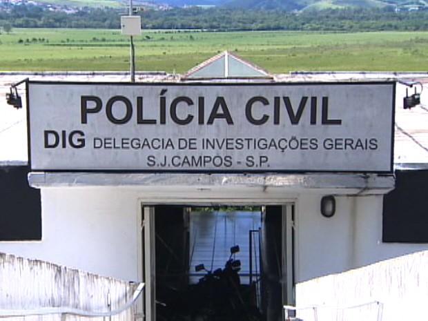 Delegacia de Investigações Gerais (DIG) de São José dos Campos. (Foto: Reprodução/TV Vanguarda)