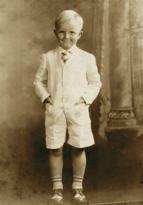 Truman Capote aos 8 anos de idade. (Foto: Divulgação)