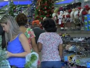 Segurança no comércio terá reforço de 1.100 policiais em Campo Grande (Foto: Reprodução/ TV Morena)