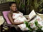 'Me aposentei definitivamente do samba', diz Quitéria Chagas, grávida