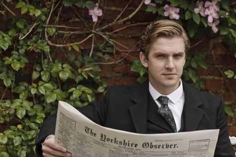 """Dan Stevens, o Matthew Crawley de """"Downton Abbey"""" (Foto: Reprodução da internet)"""