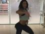 Gracyanne Barbosa capricha no rebolado em vídeo dançando funk