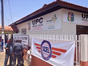 UPC vai contar com 15 policiais militares e 8 guardas municipais (Foto: Abinoan Santiago/G1)