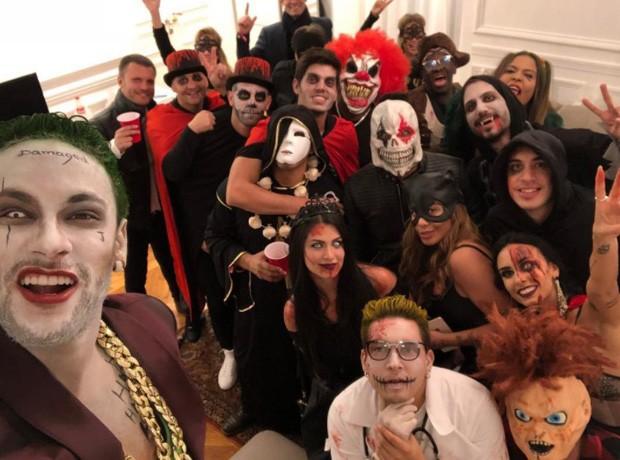 Neymar curte festa de Halloween (Foto: Reprodução/Instagram)