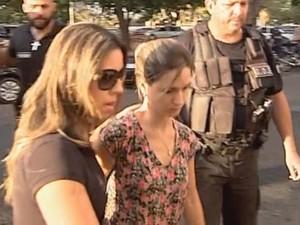 Justiça pediu prisão preventiva de Sara (Foto: Reprodução/ TV TEM)