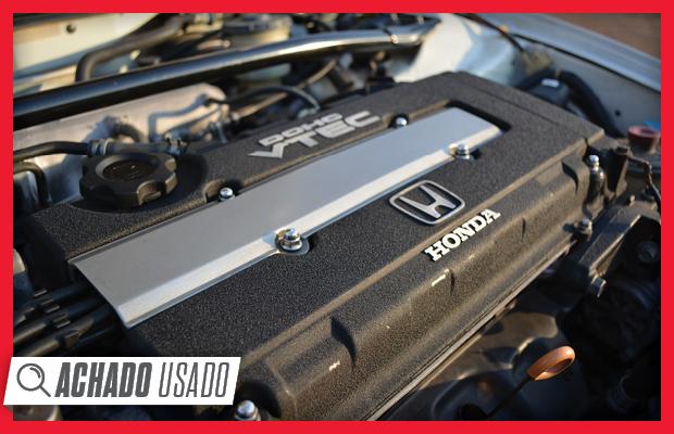 VTEC 1.6 do Honda CRX encanta pela disposição para girar e pelo som (Foto: Reprodução)