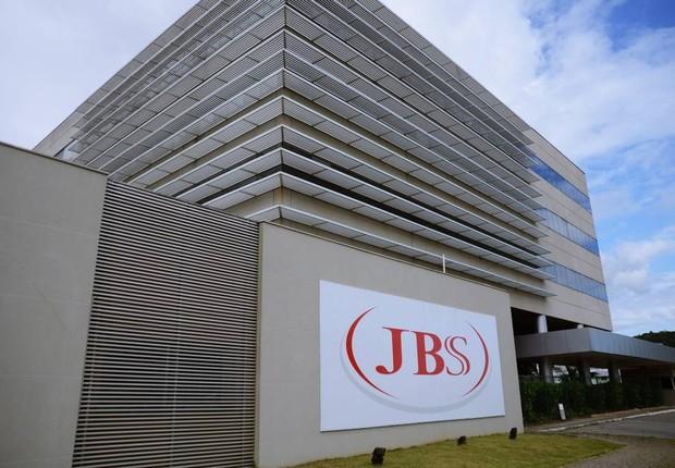 Unidade da JBS Foods em Itajaí, Santa Catarina (Foto: Lucas Tavares/Agência O Globo)