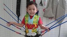 Tratamento auxilia crianças com distúrbios neurológicos                      (Divulgação)