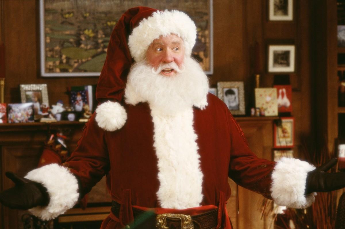 Tim Allen como Papai Noel no filme Meu Papai é Noel (Foto: Divulgação)