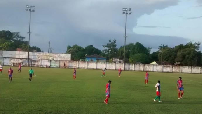Campeonato Óbidos no estádio Ari Ferreira (Foto: Arquivo pessoal/Jaime Amaral)