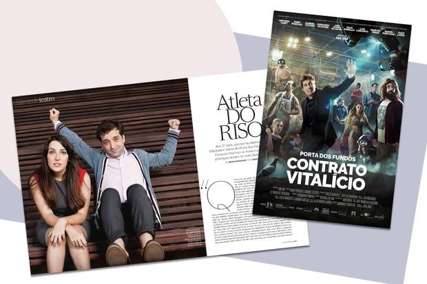 """""""Porta dos Fundos"""" no cinema (Foto: Arte Vogue Online)"""