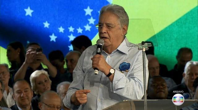 Fernando Henrique Cardoso também foi citado nas delações dos ex-executivos da Odebrecht
