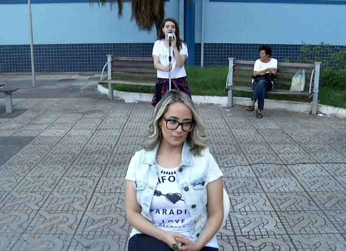 Professora de canto avaliou anônimos da região (Foto: pl)