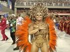 Viviane Araújo arrasa em desfile das campeãs: 'Hoje a gente pode brincar'