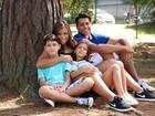 Carol Porcelli posa com os filhos: 'Maior herança são os valores'