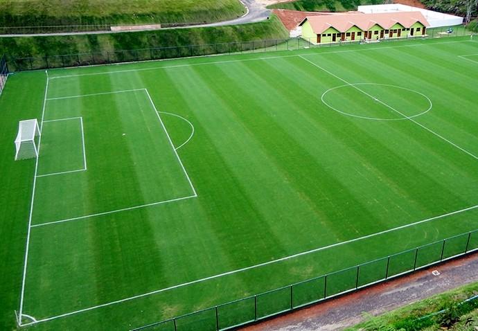 Campo do Parque do China, onde o Doze FC vai treinar (Foto: Divulgação)