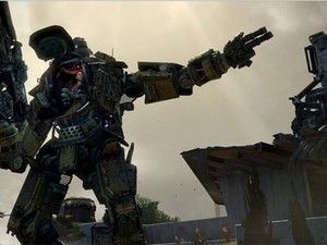 Titan são robôs com sete metros de altura em 'Titanfall' (Foto: Divulgação/Electronic Arts)