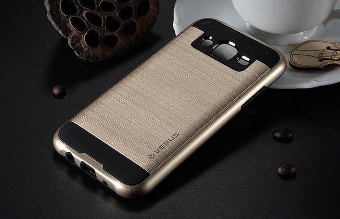 Capa com textura escovada para Samsung Galaxy J5 (Foto: Divulgação/Verus)