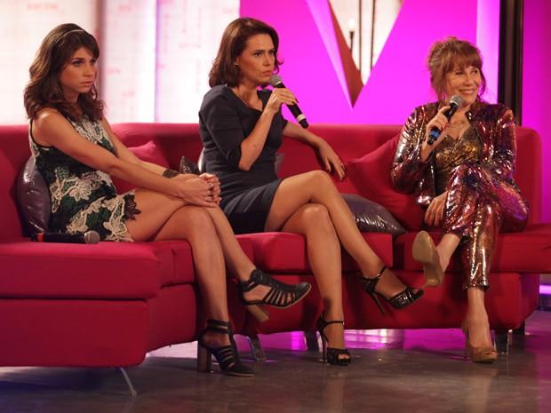 Sandra revela que voltou a se encontrar com Jonas recentemente (Foto: Pedro Curi/ TV Globo)