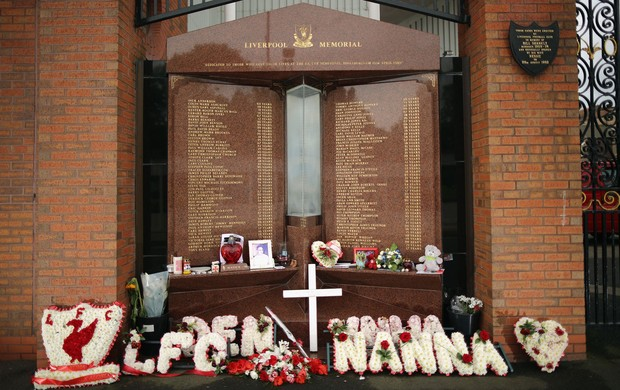 Memorial liverpool tragédia Hillsborough (Foto: Agência Getty Images)