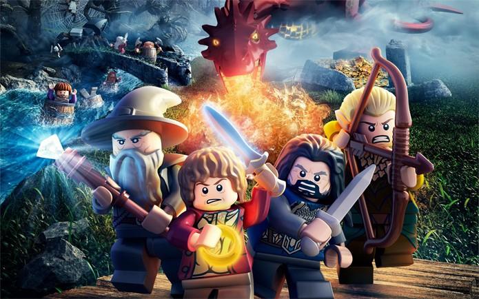 LEGO The Hobbit possui diversos personagens marcantes (Foto: Divulgação)