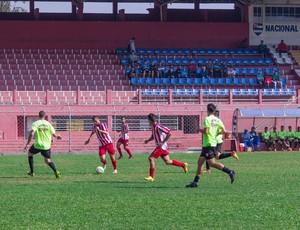 união mogi; jogo-treino; futebol; nacional-sp (Foto: Divulgação / Abmael Marrichi)