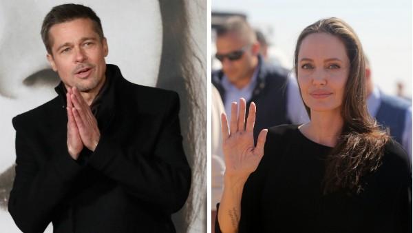 O ator Brad Pitt e a atriz Angelina Jolie (Foto: Getty Images)