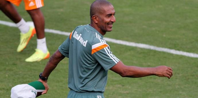 Cristóvão Borges Treino Fluminense (Foto: Fernando Cazaes/Photocamera)