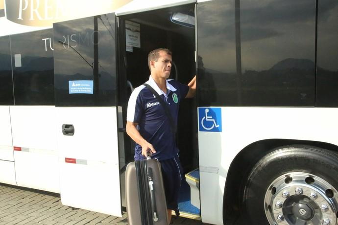 Altos chega a Criciúma  (Foto: Luís Júnior )