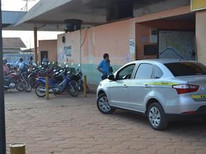 Taxistas estão otimistas com a nova forma de trabalhar, segundo presidente de associação (Foto: Rogério Aderbal/G1)