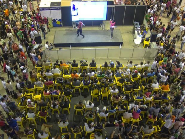 Evento conta com 80h de programação dividida em quatro áreas e convidados de todo o Brasil (Foto: Divulgação)